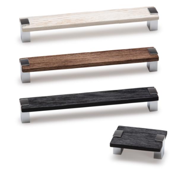 Tirador de madera Bada. Wooden handle Bada.