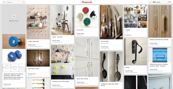 Viefe handles on pinterest