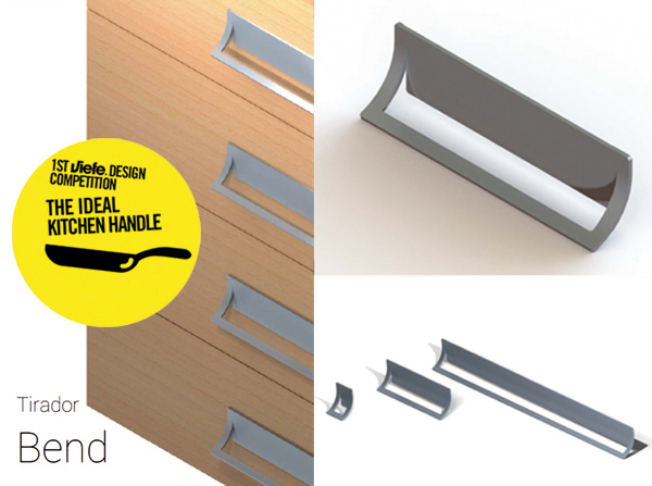 Winner competition The Ideal Kitchen Handle by Viefe