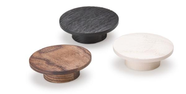 Echo, pomos de madera para cocinas. Wooden handles for kitchens.