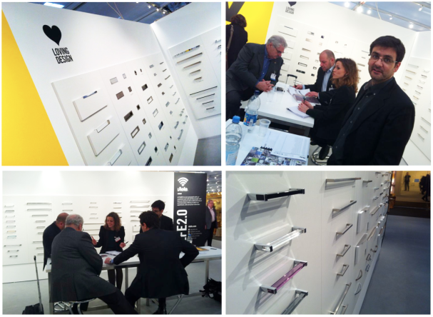 Viefe knobs and handles at ZOW trade fair 2014