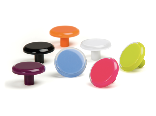 Pomos de colores, colour knobs by Viefe