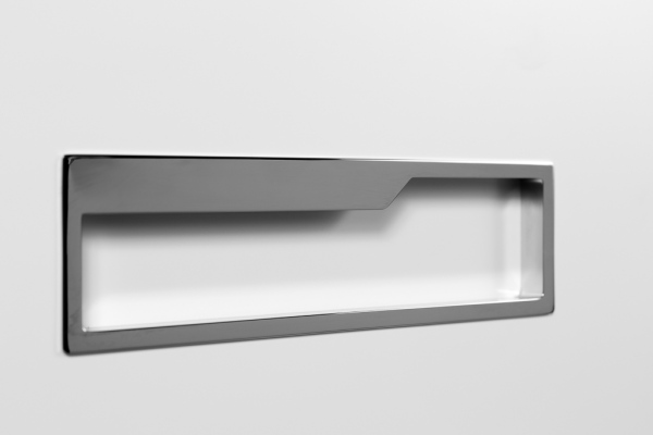 Pocket, integrated bathroom handle. Pocket, tirador integrado para el baño.
