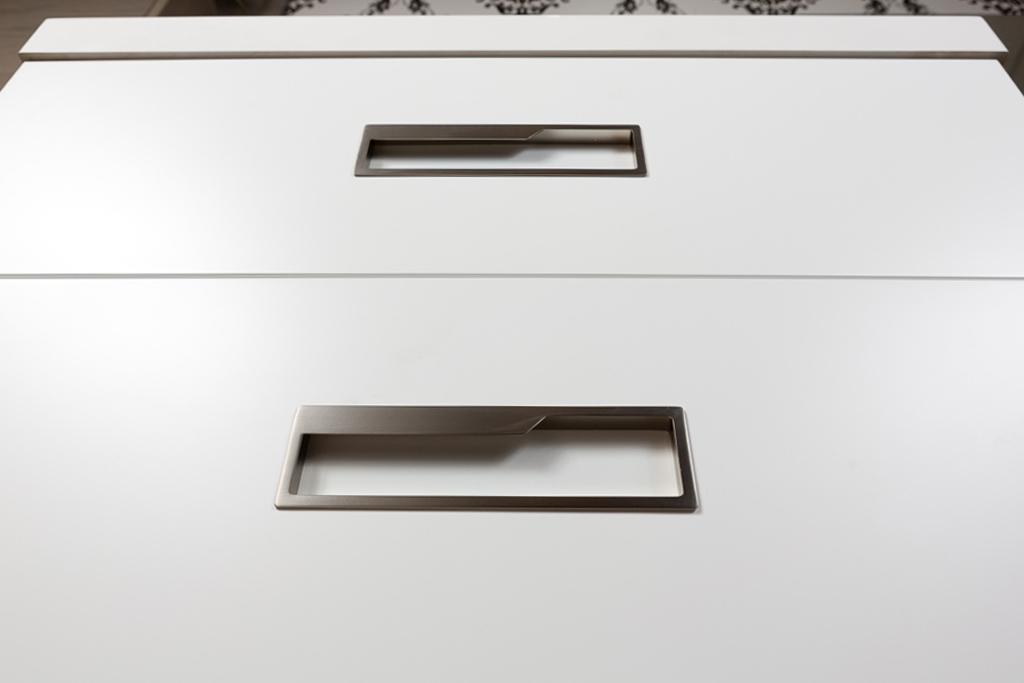 Cool 10PCS 64mm Furniture Bathroom Stainless Steel Door Handle Drawer