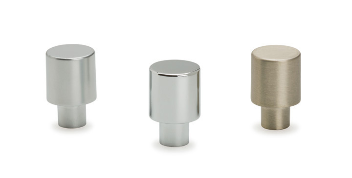 Pomos redondos para baños Viefe. / Round bathroom knobs Viefe