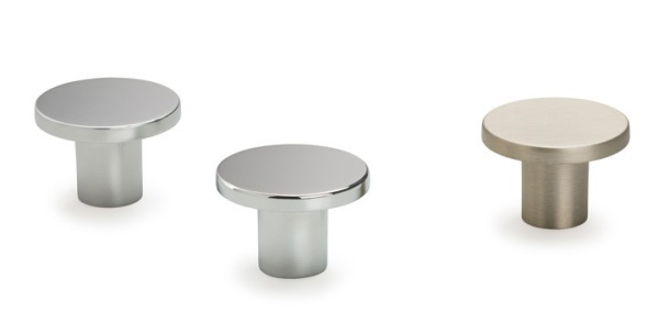 Pomos redondos para baños Viefe. / Round bathroom knobs Viefe