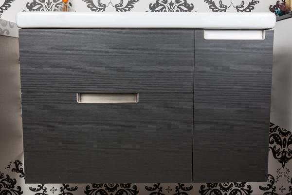 Nest, buit-in handle for bathrooms by Viefe. Nest, tirador integrado para baños de Viefe.