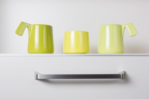 Arrow kitchen handle by Viefe. Tirador de cocina Arrow by Viefe.