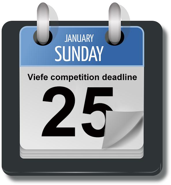 Fecha límite concurso Viefe