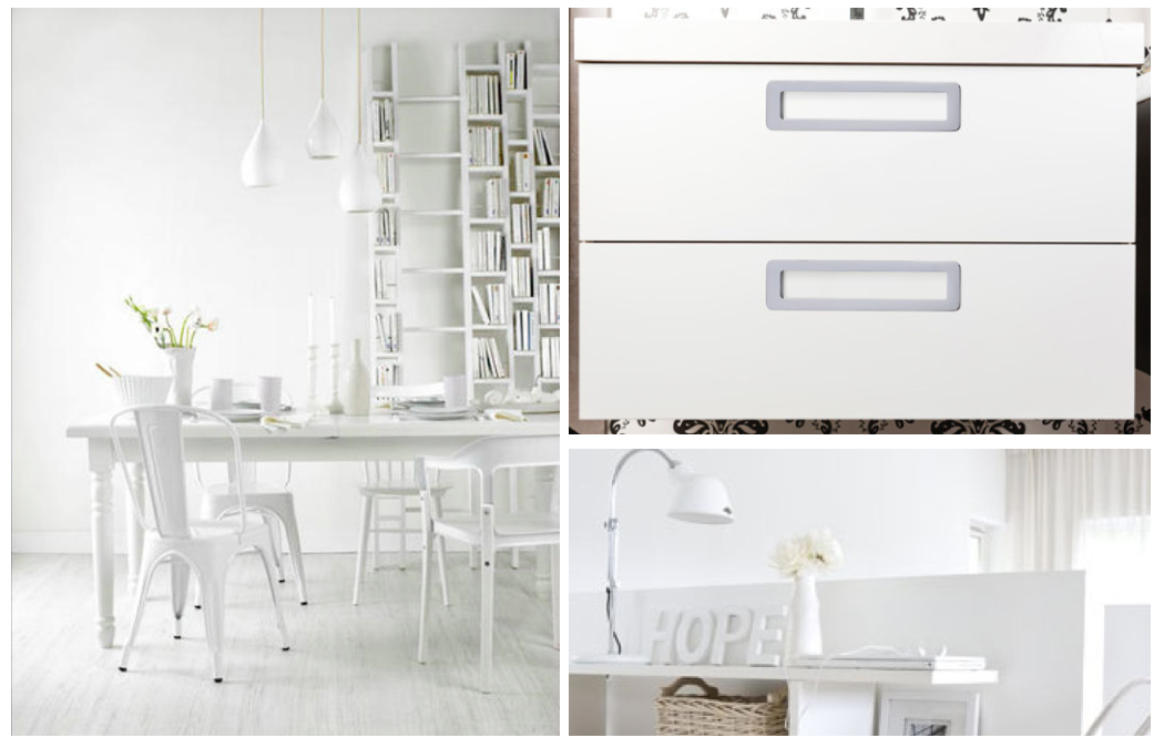 Total white handles by Viefe