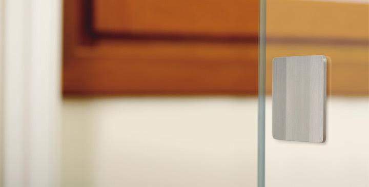 Tirador Plec Viefe puerta corredera. Viefe Plec handle for sliding door.