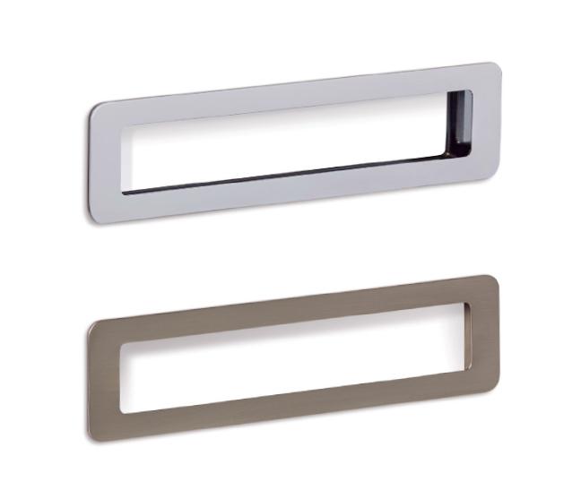 Low handle for bathrooms by Viefe. Tirador Low para baños de Viefe.