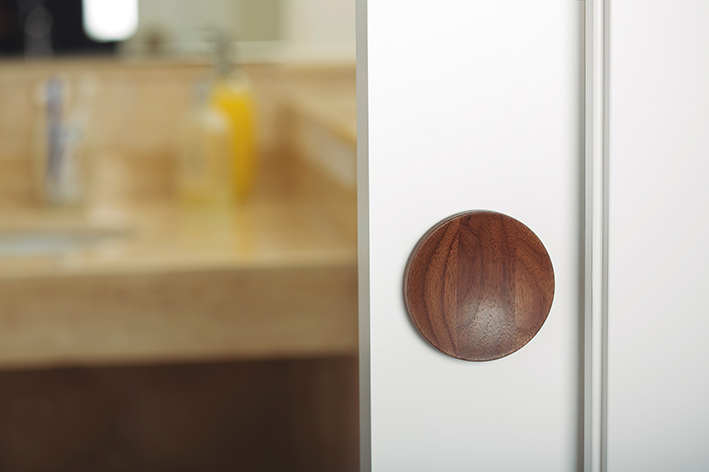 Conca tiradores de madera para puertas correderas conca for Tirador puerta corredera