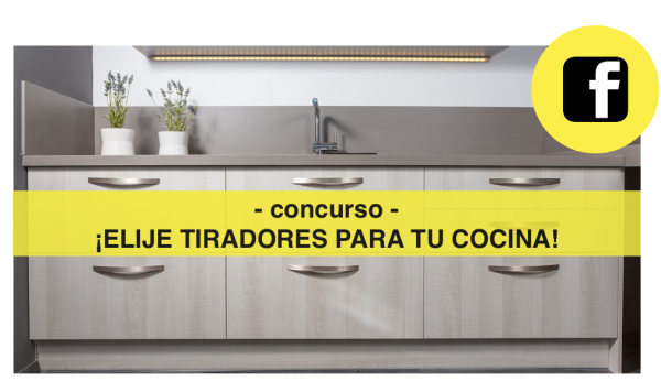 Concurso facebook Viefe nuevos tiradores para tu cocina. Facebook competition Viefe new handles for your kitchen