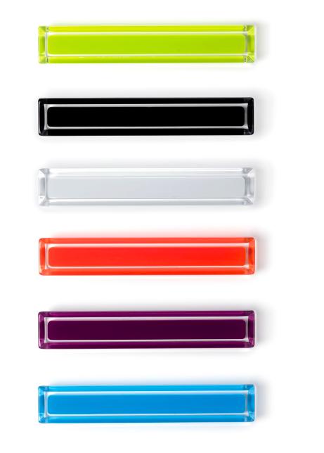 Tiradores Core de colores de Viefe. Core colour handles by Viefe.