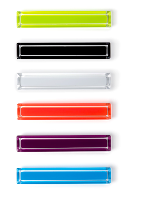 Tiradores Core de colores de Viefe. Core colour handles by Viefe.