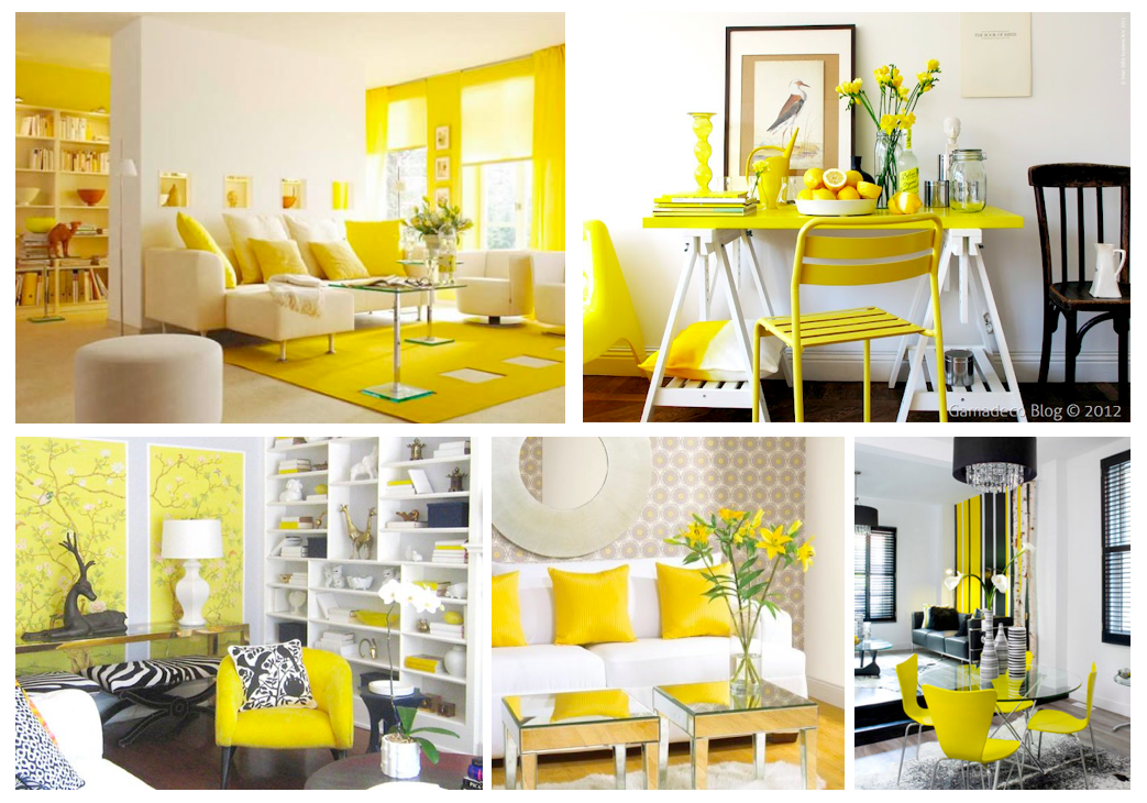 tendencias decoraci n 2016 amarillo by viefe viefe blog