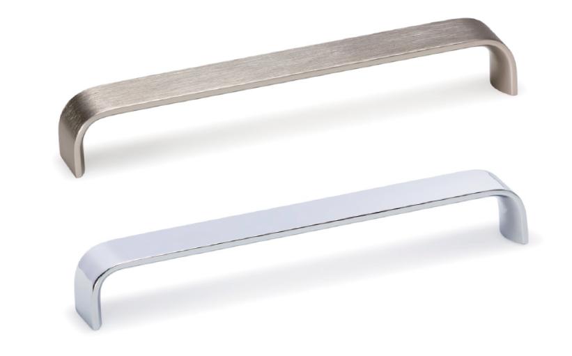 Tirador Sense de aluminio para cocina de Viefe. Sense aluminium handle for kitchens by Viefe.