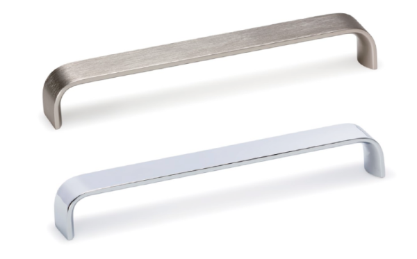 Tirador Sense de aluminio para cocina de Viefe. Sense aluminium handle for kitchens by Viefe.