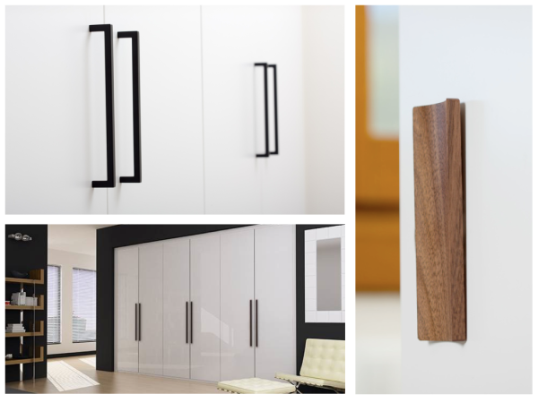 Tiradores para armarios de habitaciones Viefe. Handles for bedroom cupborads by Viefe.