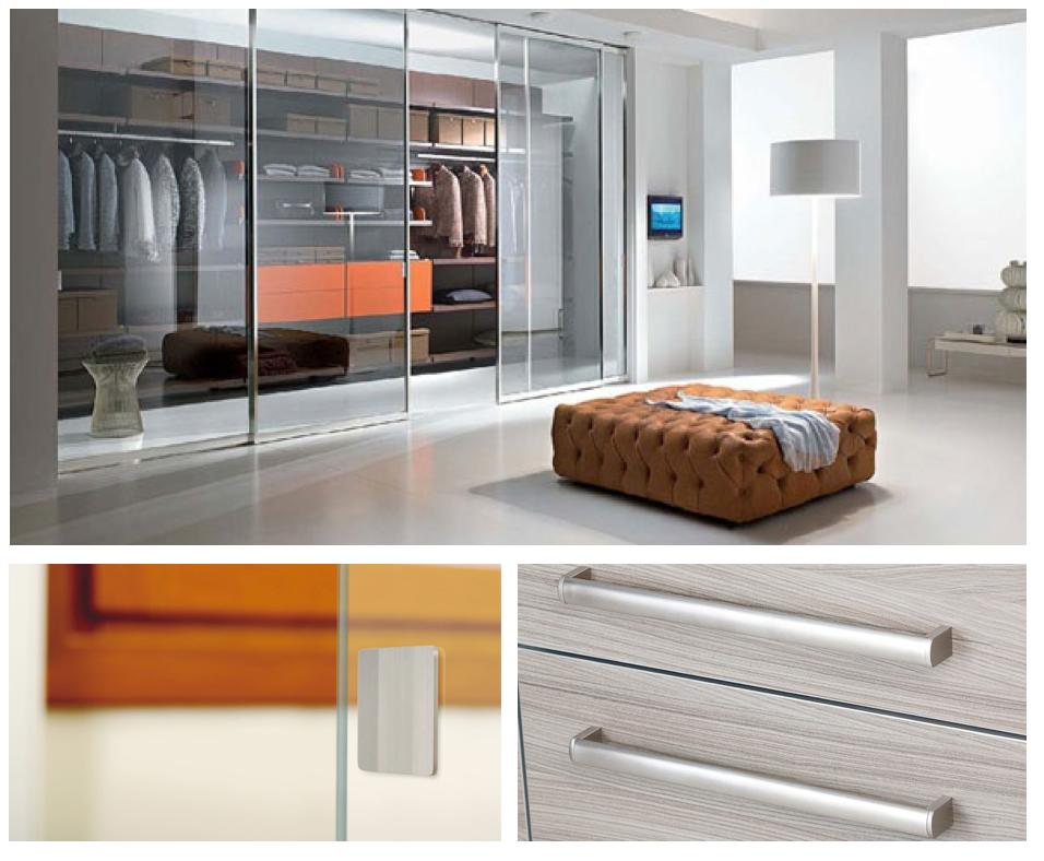 Tiradores para armarios de dormitorios / Handles for bedroom ...