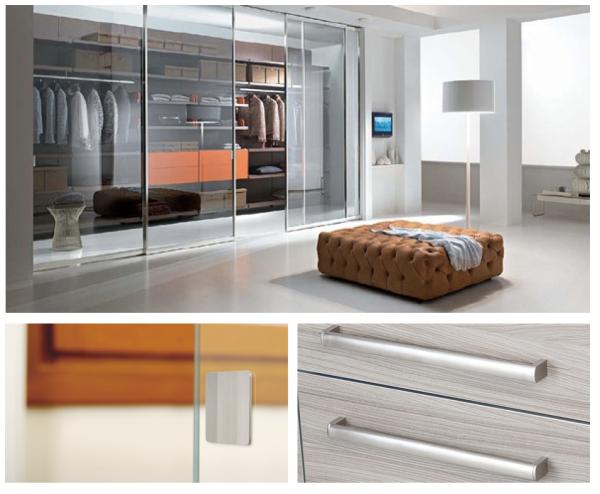 Tiradores para armarios de dormitorios handles for - Tiradores para armarios empotrados ...