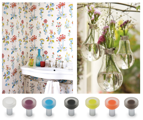 Pomos decoración primavera 2016 Viefe. Knobs spring decoration 2016 Viefe.