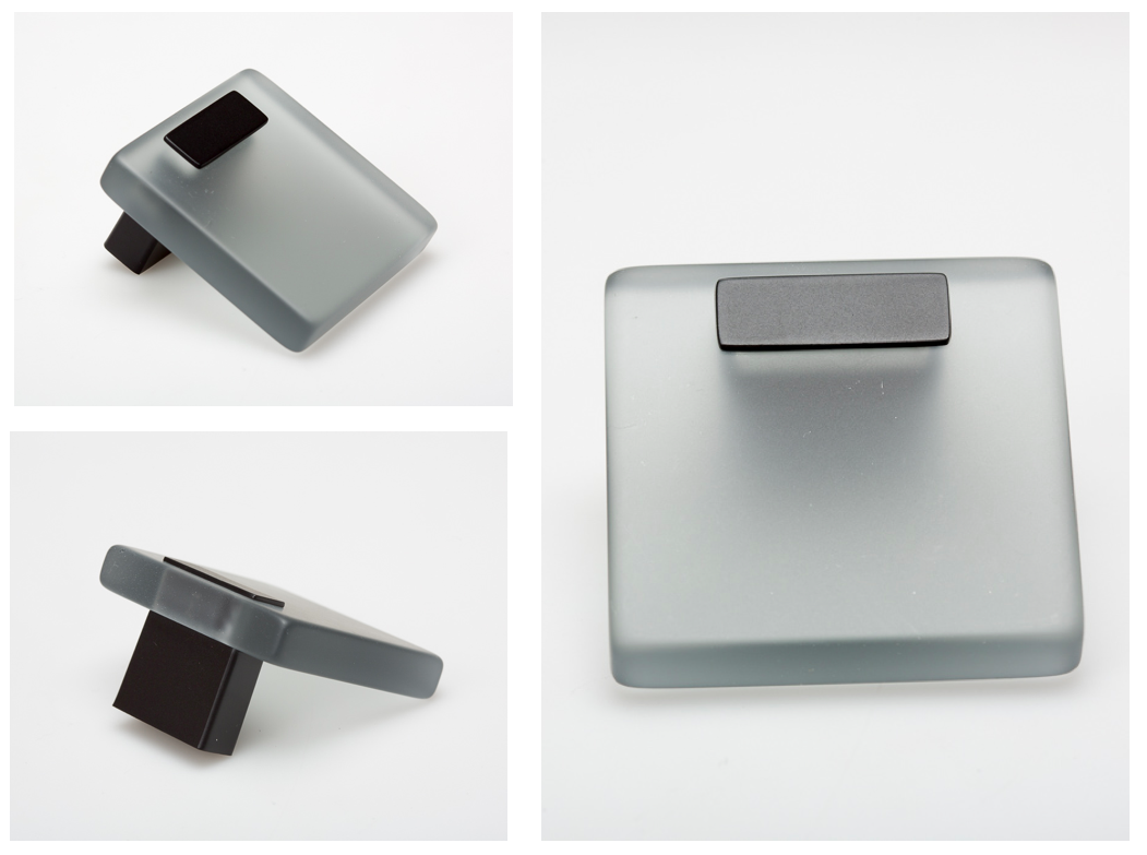 Pomo Domo para muebles by Viefe. Domo knob for furniture by Viefe.