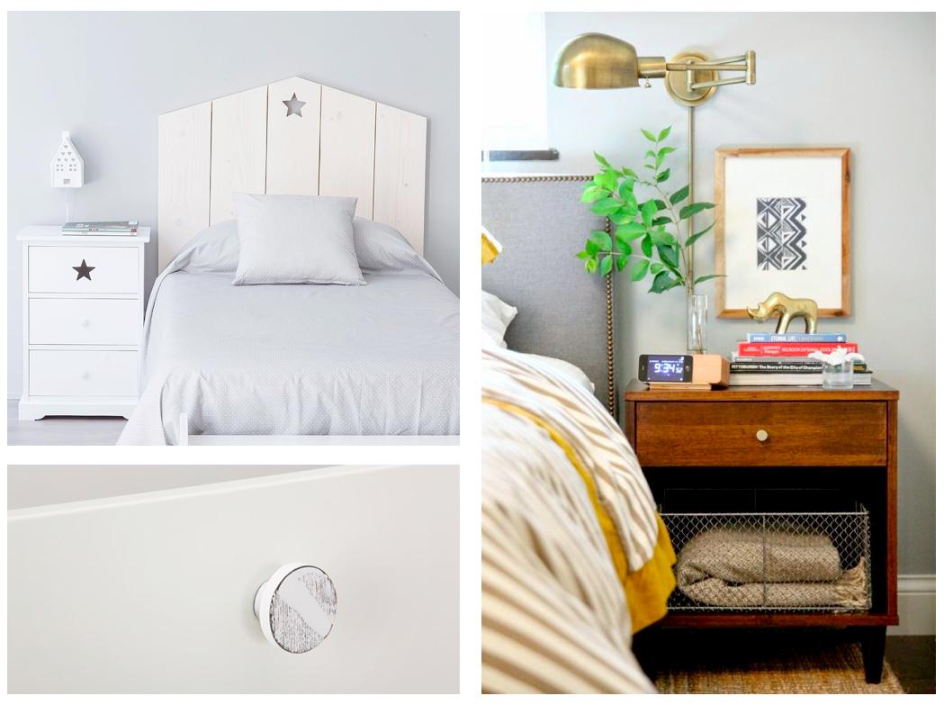 Tiradores para mesitas de noche handles for bedside - Mesitas de noche para espacios reducidos ...