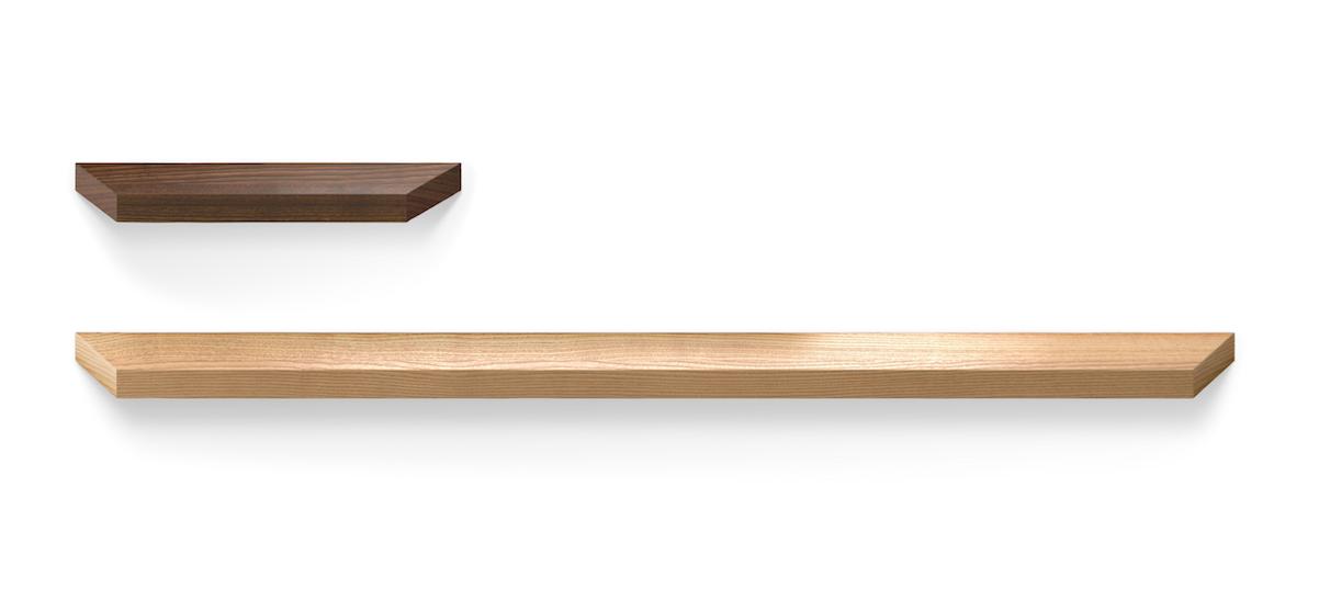 Tirador de madera Barcco de Viefe. Wooden handle Barcco by Viefe.