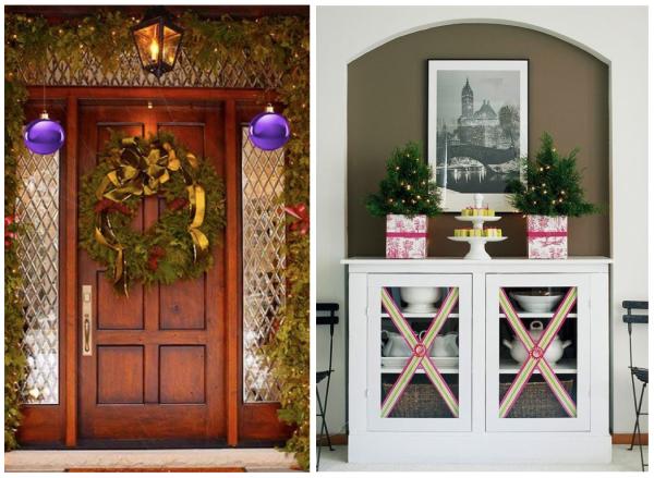 Decoraci n de puertas en navidad door decoration for - Pomos puertas interior ...