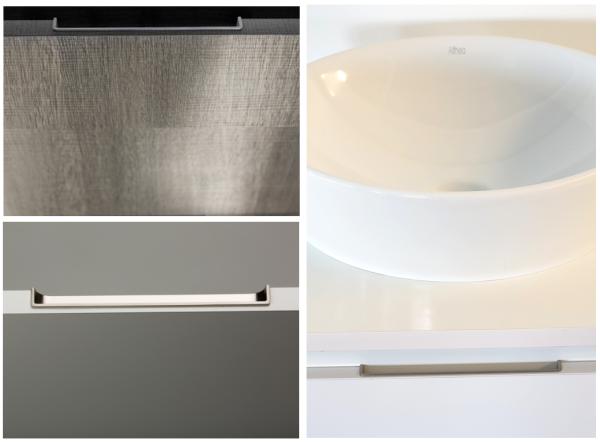 Tirador integrado Hide para cocinas. De Viefe. Hide integrated handle for kitchens. By Viefe.