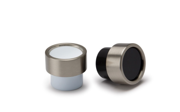 Pomos Piston de Viefe para muebles pequeños. Piston knobs by Viefe for small furniture.
