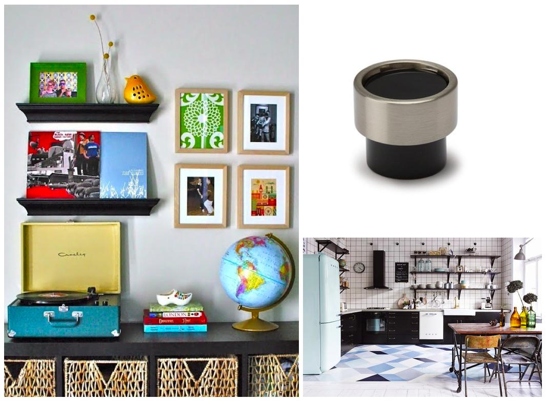 Pomos Piston de Viefe para muebles pequeños. Piston knobs by Viefe for small furniture.