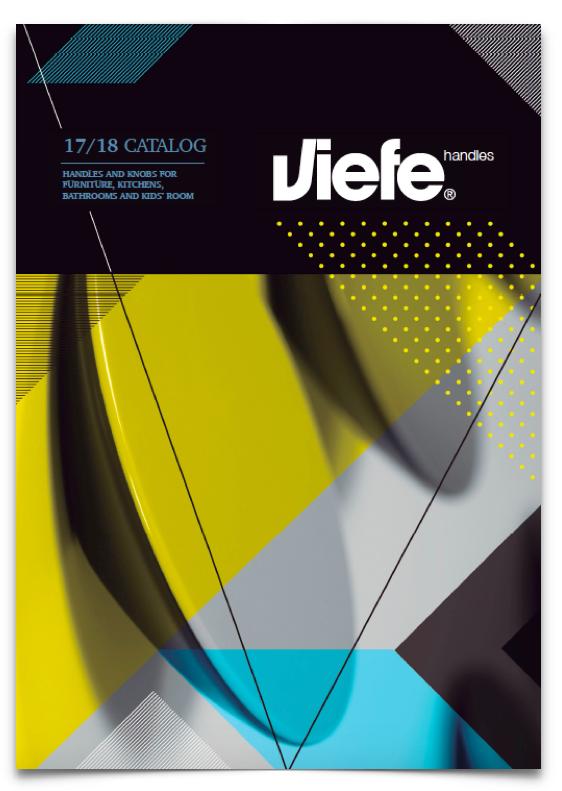 Catálogo de pomos y tiradores Viefe 2017-18. Catalogue of knobs and handels Viefe 2017-18