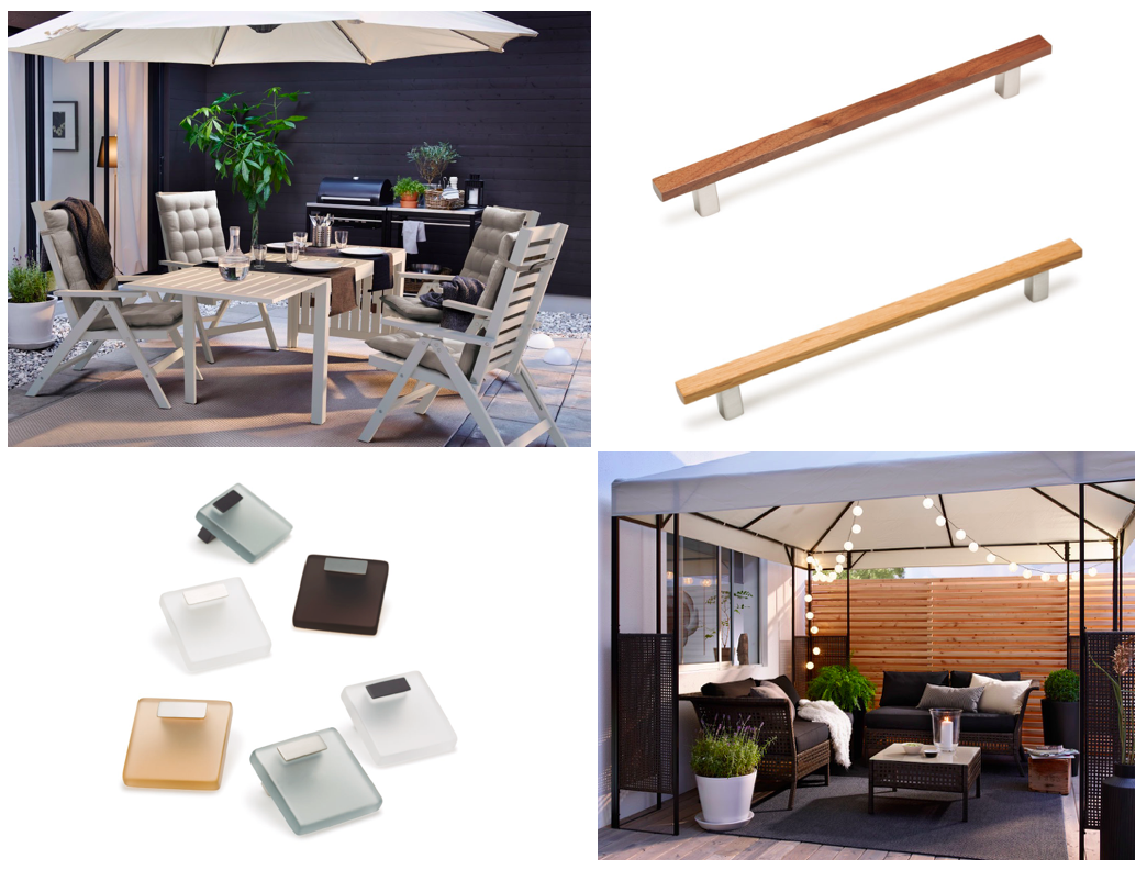 Muebles de terraza. Outdoor furniture