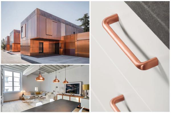 Complementos decorativos color cobre copper coloured - Tiradores decorativos ...